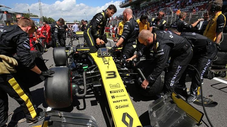 renault f1 team systeme freinage illegal