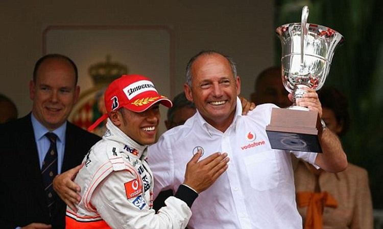 Lewis Hamilton remercie celui sans qui il n'aurait jamais pu être en Formule 1