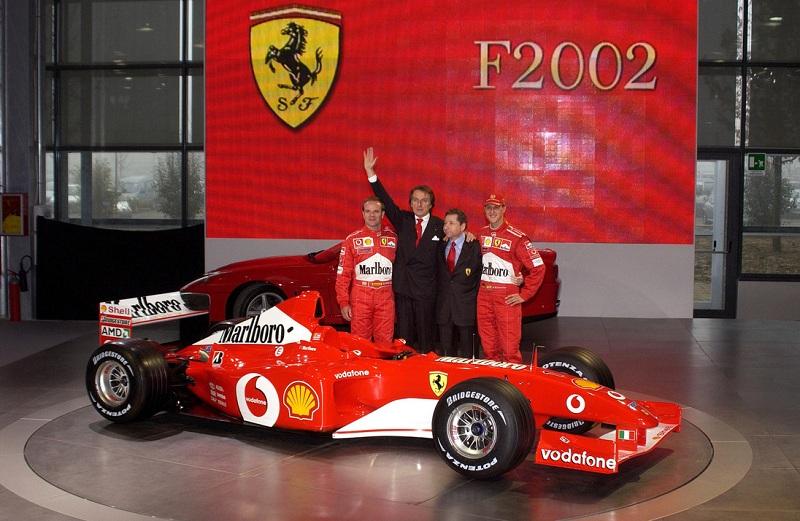 La F2002 de Michael Schumacher sera bientôt vendue aux enchères