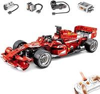 F1 à moteur électrique - Télécommande - Jouets d'apprentissage éducatif bricolage