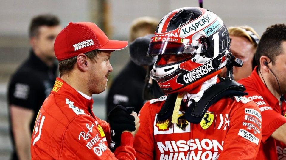 Sebastian Vettel reconnait la supériorité de Charles Leclerc en qualification