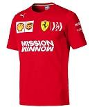 Puma Ferrari Team Herren T-Shirt Rosso Corsa XXL
