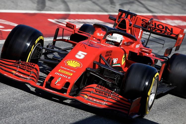 F1 - tests à Barcelone : Vettel en amélioration, Gasly en difficulté